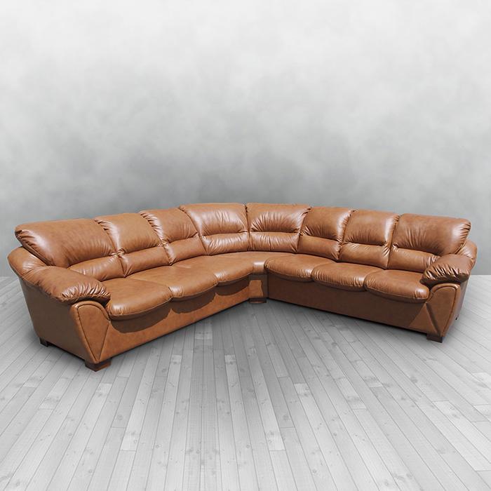 Перетяжка мягкой мебели с кожаной обивкой