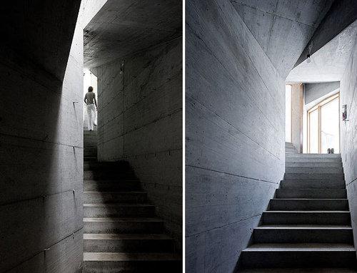 Дизайн лестниц дома в норе
