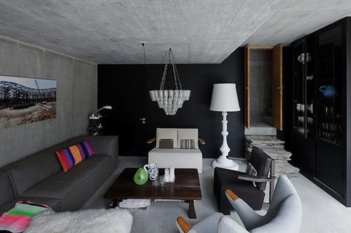 Дом в норе прихожая комната