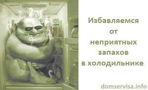 Избавляемся от неприятных запахов в холодильнике