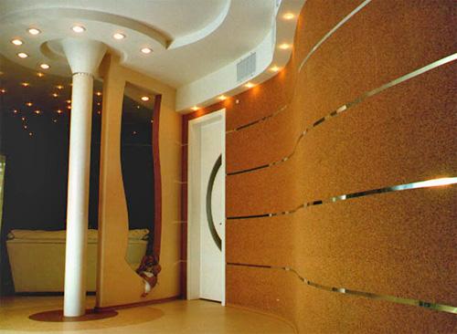 Фото квартир с пробковыми стенами