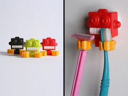 Робот держатель для зубных щеток и бритв