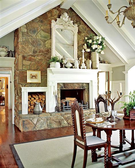 Романтизм в дизайне интерьера дома