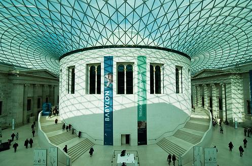 Классный дизайн интерьера британского музея