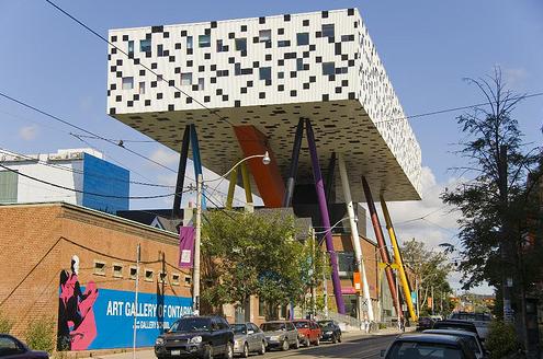Остроумный модный дизайнерский центр Торонто