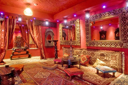 Стиль востока в дизайне интерьера комнаты