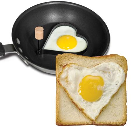 Формочка для яичницы в форме сердечка