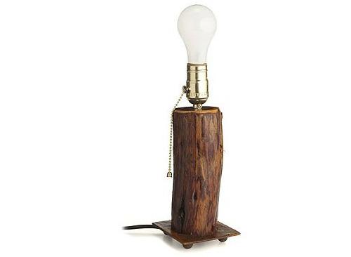 Кедровая основа для лампочки