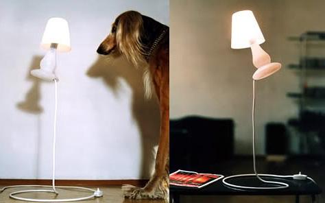 Свесающий светильник нарушающий законы гравитации
