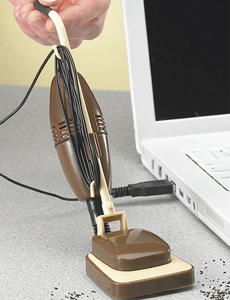 USB-пылесос в ретро стиле
