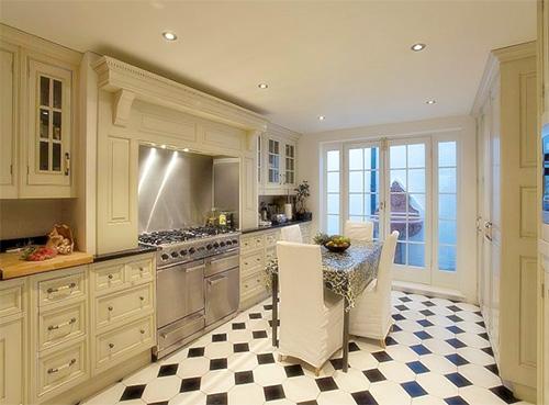 Красивейший дизайн кухни в английском стиле