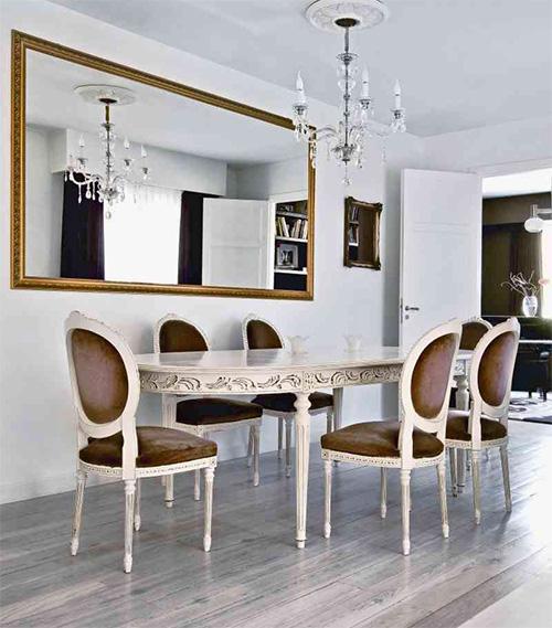 Дизайн интерьера столовой в английском стиле