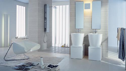 Обалденная ванная комната для розслабления