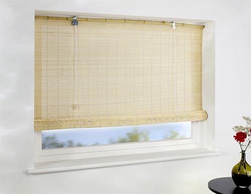 Бамбуковые рулонные шторы для квартиры или офиса