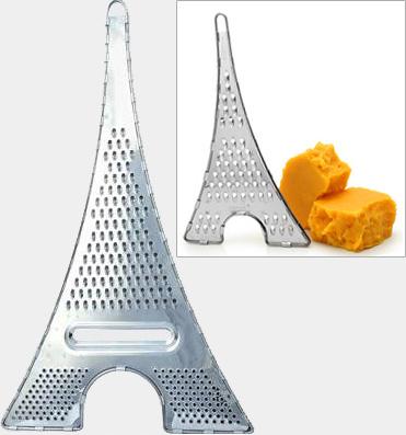 Терка для сыра, фруктов, овощей в виде Эйфелевой башни