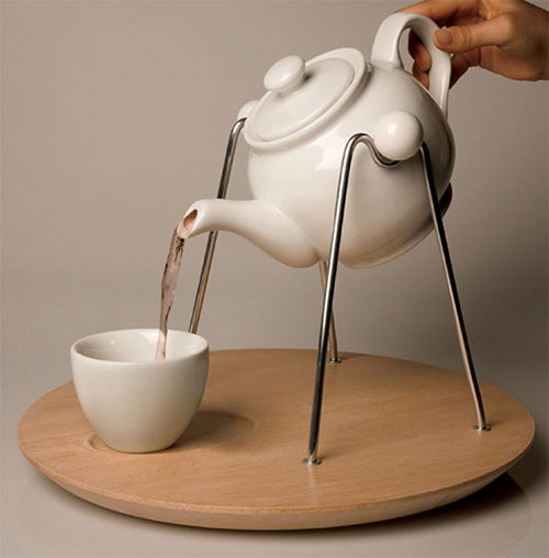 Подставка-качалка для чайника