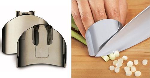 Защита для пальцев во время крошки зелени