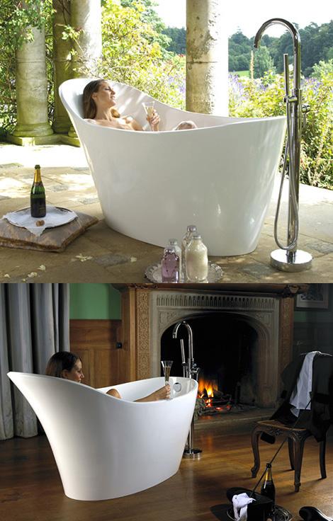 Асимметричная ванна Amalfi
