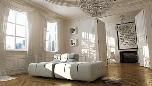 Дизайн интерьера будущей прихожей, автор Marc Gruber-Laux Германия