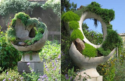 Стильные красивые скульптуры для сада