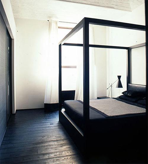 Темный цвет в интерьере квартиры
