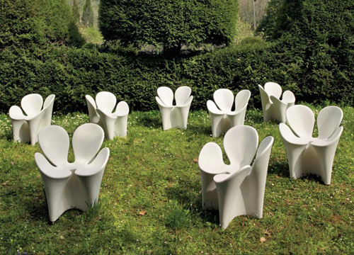 Кресло листик клевера или цветочек