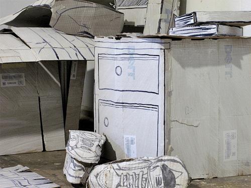 Кросовки из бумаги