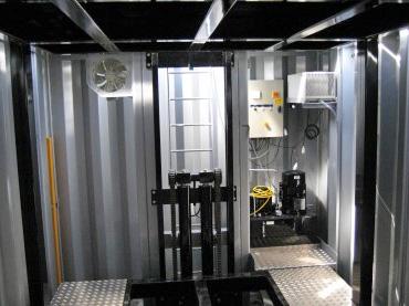Подземная часть подземной парковки