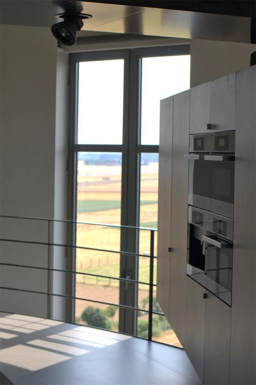 Кухня в водонапорной башне