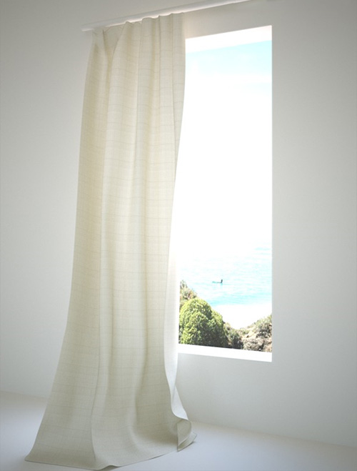 Шторы для подчеркивания вида из окна