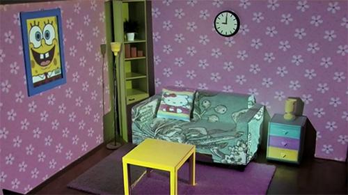 Проекция детской комнаты