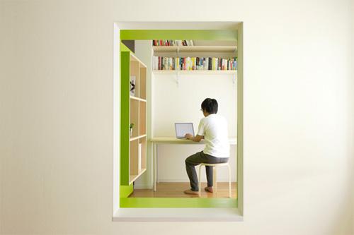 Подвижная стена может превращаться в окно