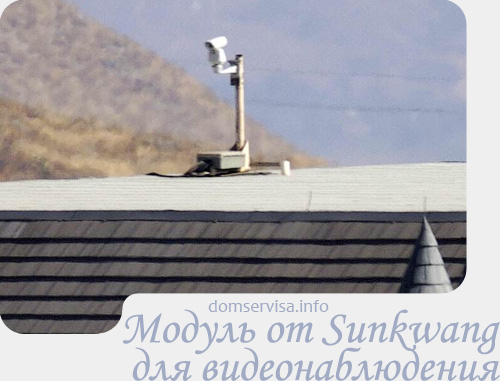 Характеристики модуля от Sunkwang для видеонаблюдения