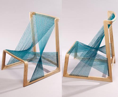 Шелковое кресло